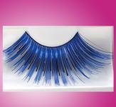 Wimpernkranz Blau-Metallic