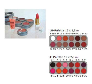 Lippenstiftpalette Grimas-12
